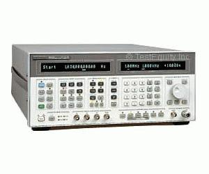 HP/AGILENT 8664A/1/4 SIGNAL GENERATOR, 100 KHZ-3 GHZ, HIGH PERFORMANCE., OPT.1/4